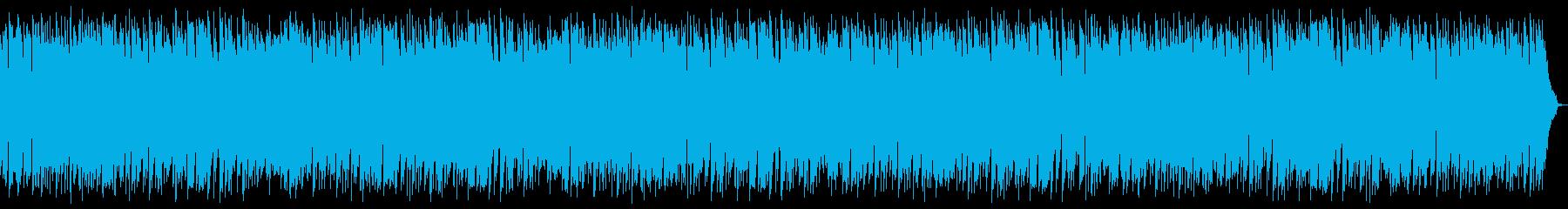 日常系BGM延々ループ3分バージョンの再生済みの波形