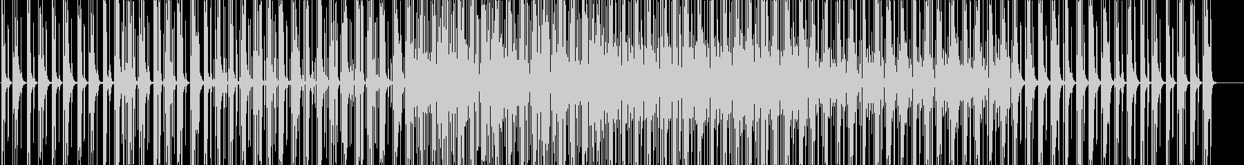 かわいいサンプリングエレクトロニカハウスの未再生の波形