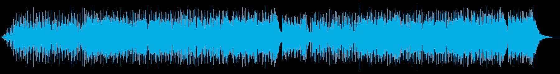 英語の男声ボーカル ポップス 失恋の歌の再生済みの波形