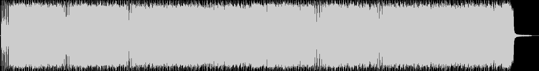 軽快なギターロックBGM 生演奏!の未再生の波形