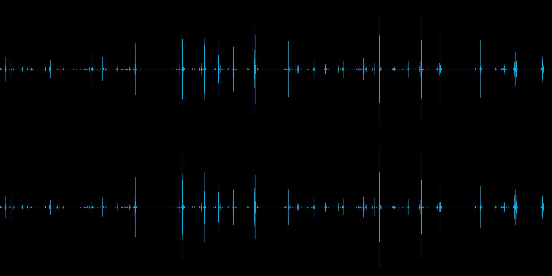 折り畳みルール、測定ツール、折り目...の再生済みの波形