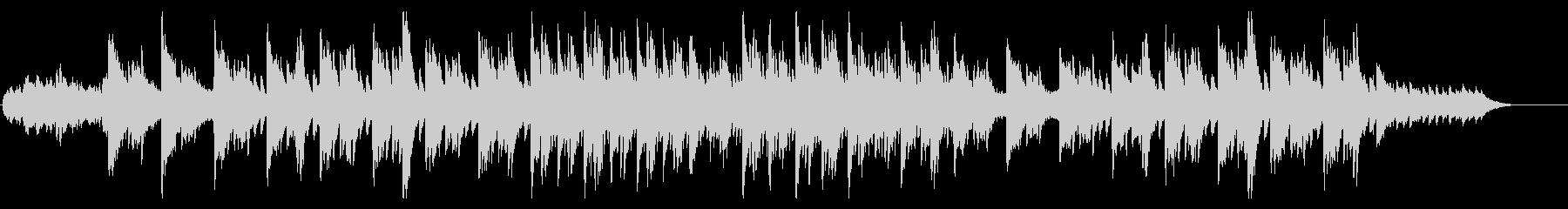 感動的なピアノ/openingの未再生の波形