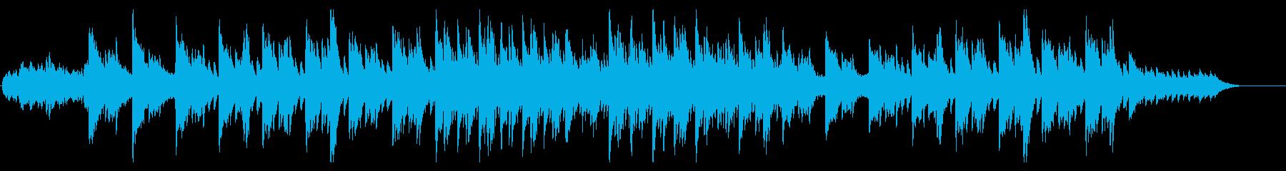 感動的なピアノ/openingの再生済みの波形