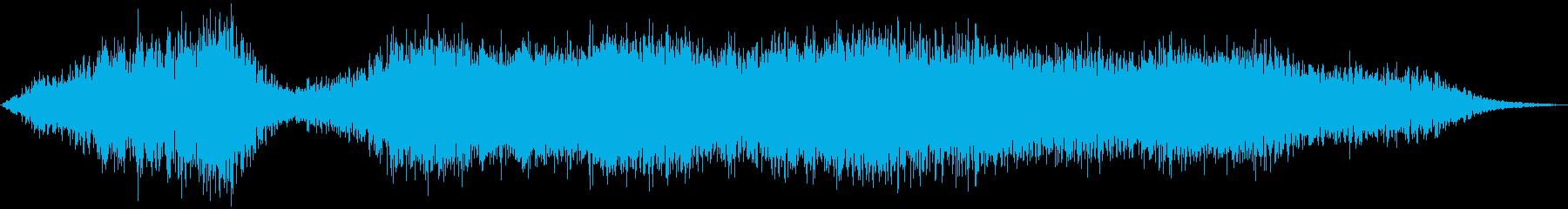 PADS 底流01の再生済みの波形