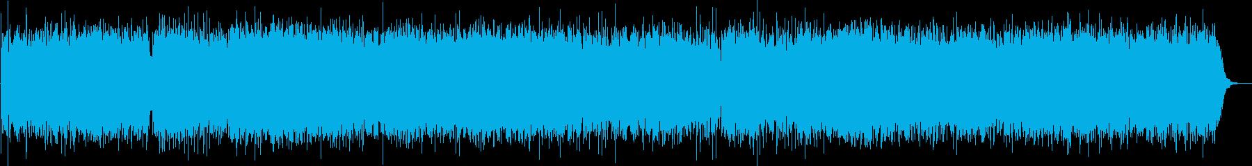 シタールの謎めいたお寺のBGM激しい版の再生済みの波形