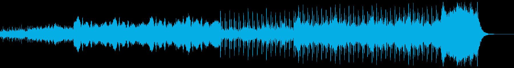 ハロウィン用BGM①怪しげなベルの再生済みの波形
