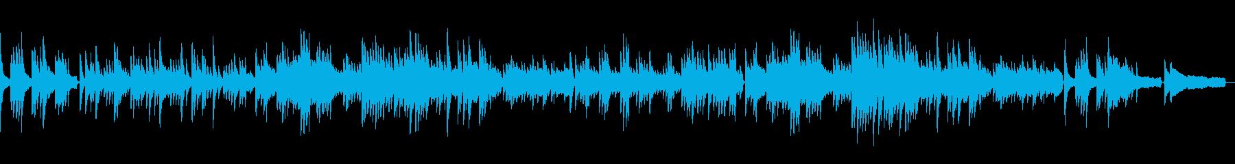 ピアノでオシャレに 別れの曲・ショパン1の再生済みの波形