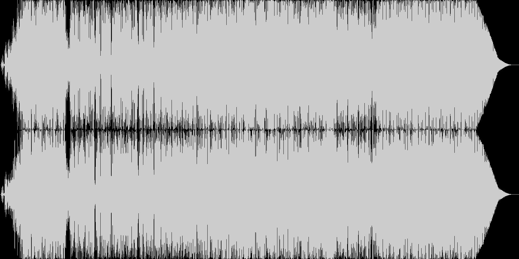「体揺らすダンスポップなナンバー」の未再生の波形