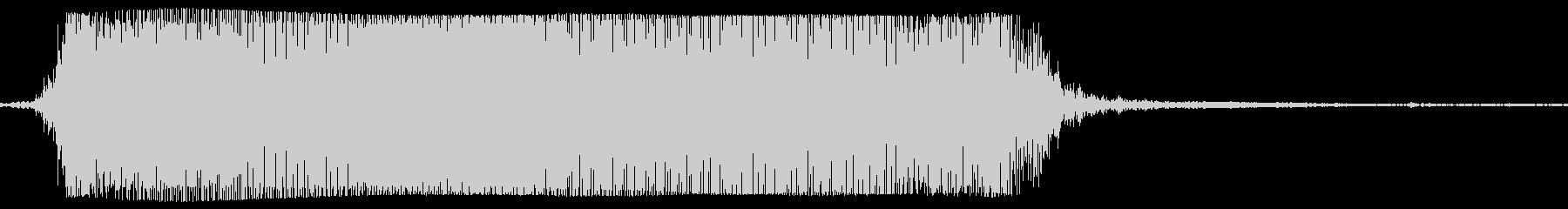 ギターメタルパワーコード、の未再生の波形