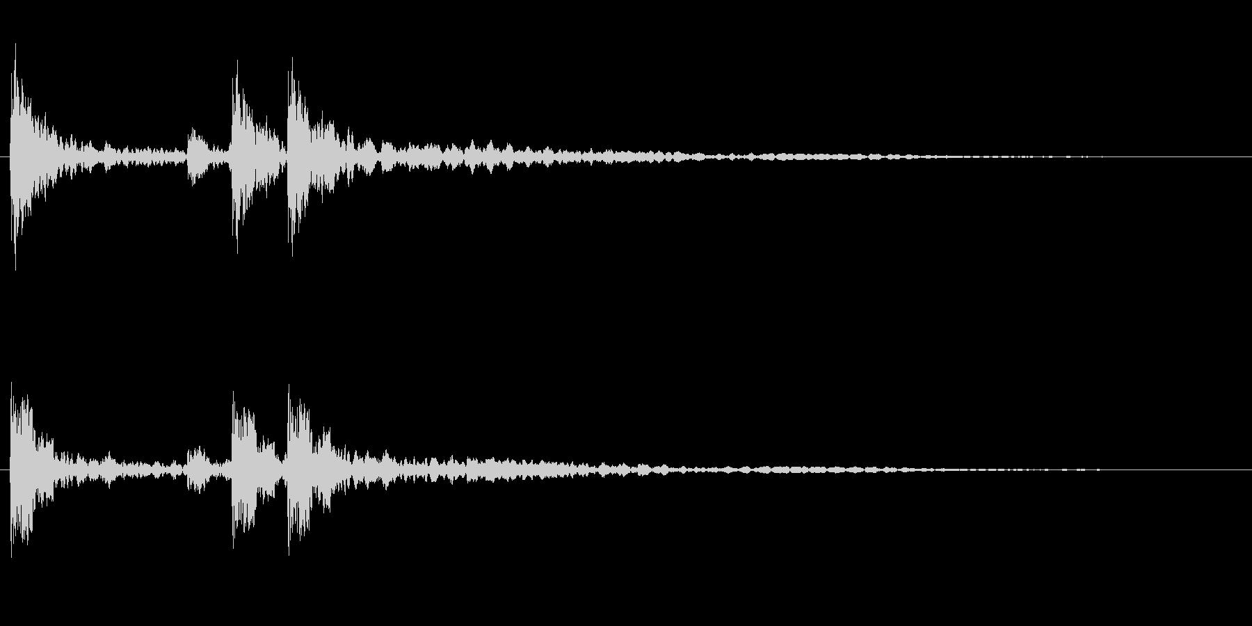 サスペンスに最適!ピアノの弦を弄ぶ音48の未再生の波形