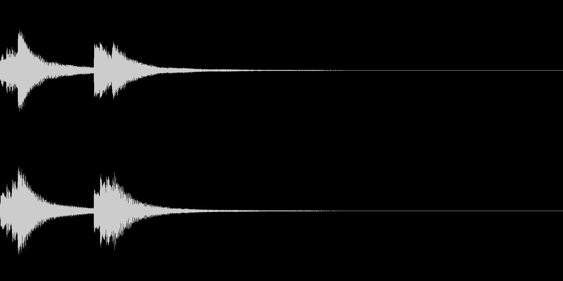 システム起動音_その13の未再生の波形