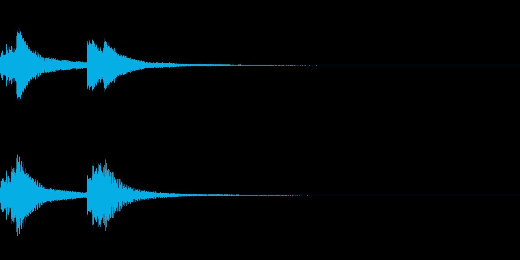 システム起動音_その13の再生済みの波形