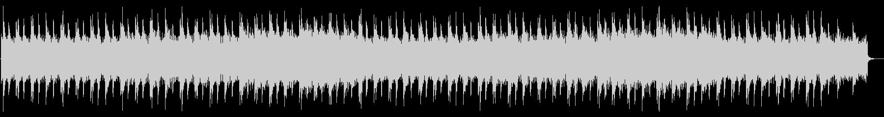 感動的な映像に合うピアノとストリングスの未再生の波形