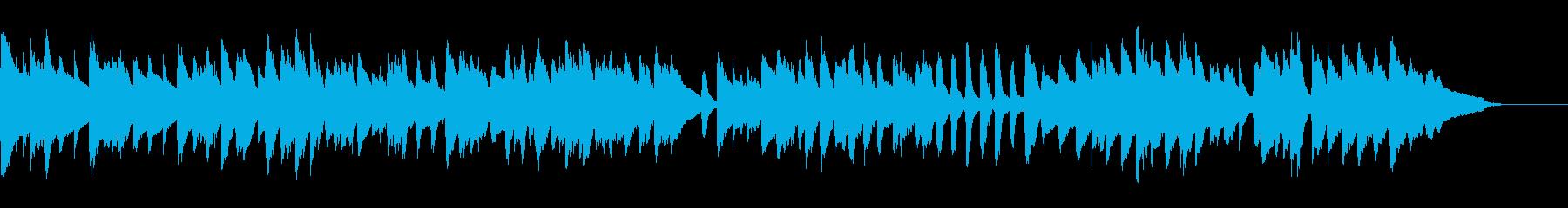 バッハの有名曲、メヌエット ト長調です。の再生済みの波形
