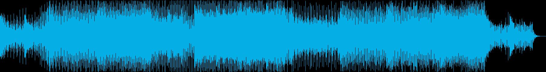 ★雄大で華麗な雰囲気のEDMの再生済みの波形