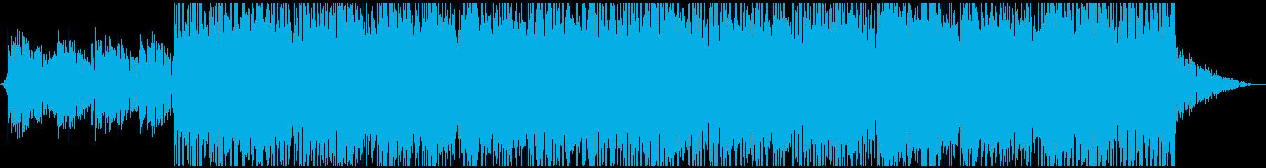 実験的な 淡々 テクノロジー リラ...の再生済みの波形
