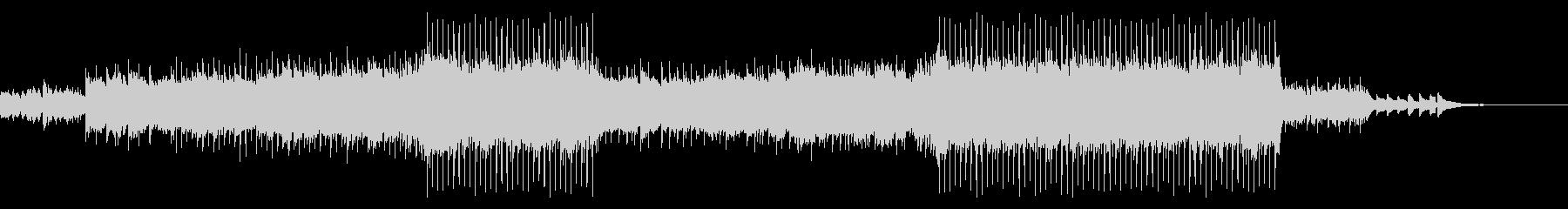 【メロディ抜き】サビのある綺麗なピアノバの未再生の波形