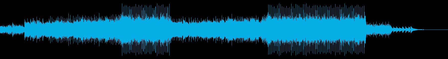 【メロディ抜き】サビのある綺麗なピアノバの再生済みの波形