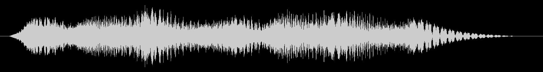 素材 揺れるドローン07の未再生の波形