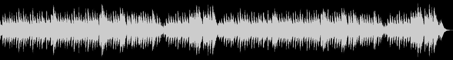 可愛らしいアレンジ/バッハ/メヌエットの未再生の波形
