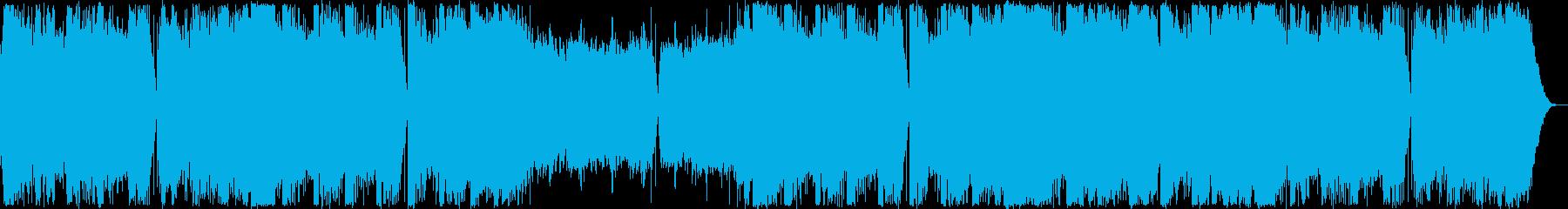 イベント・女性ボーカルフューチャーベースの再生済みの波形