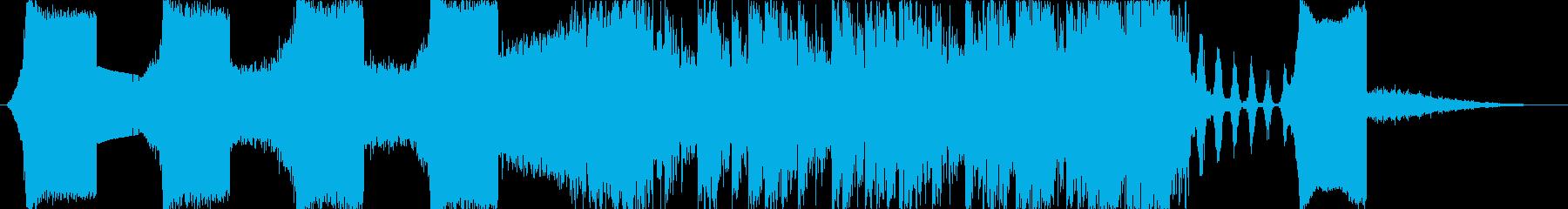 実験的 劇的な テクノロジー シン...の再生済みの波形
