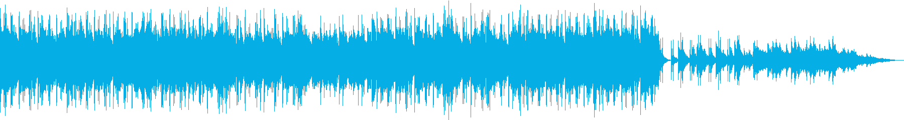 エレガントな雰囲気のピアノ曲の再生済みの波形