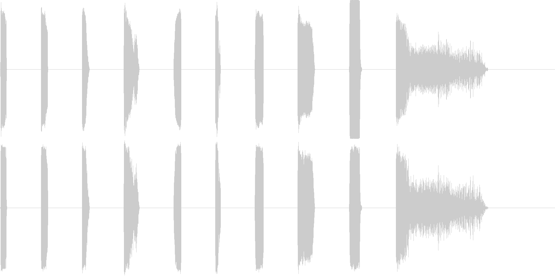DJ Sparks 11-20の未再生の波形