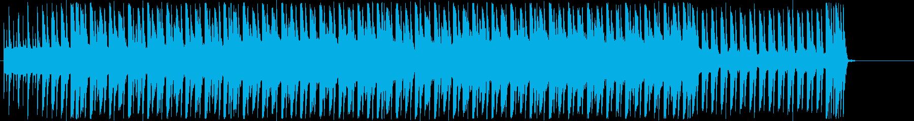 宇宙を感じるスピードあるポップスの再生済みの波形