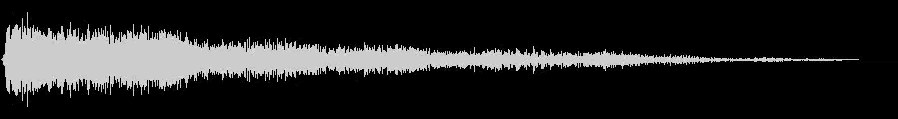 ダークスペースウェイルの未再生の波形