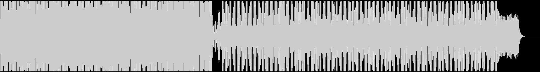 クールで、やや暗めなアンビテクノサウンドの未再生の波形