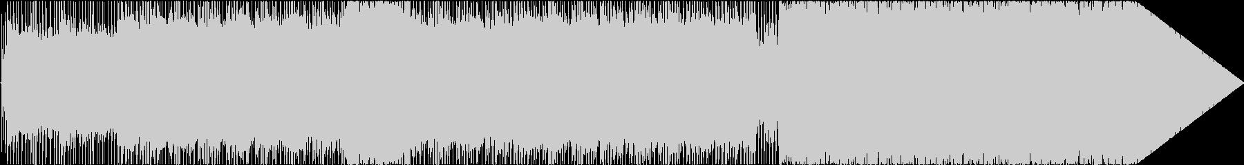 妖艶なオルタナティブロックインストの未再生の波形