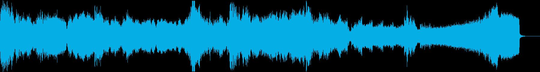 【ダークアンビエント】 悪夢の目覚めの再生済みの波形