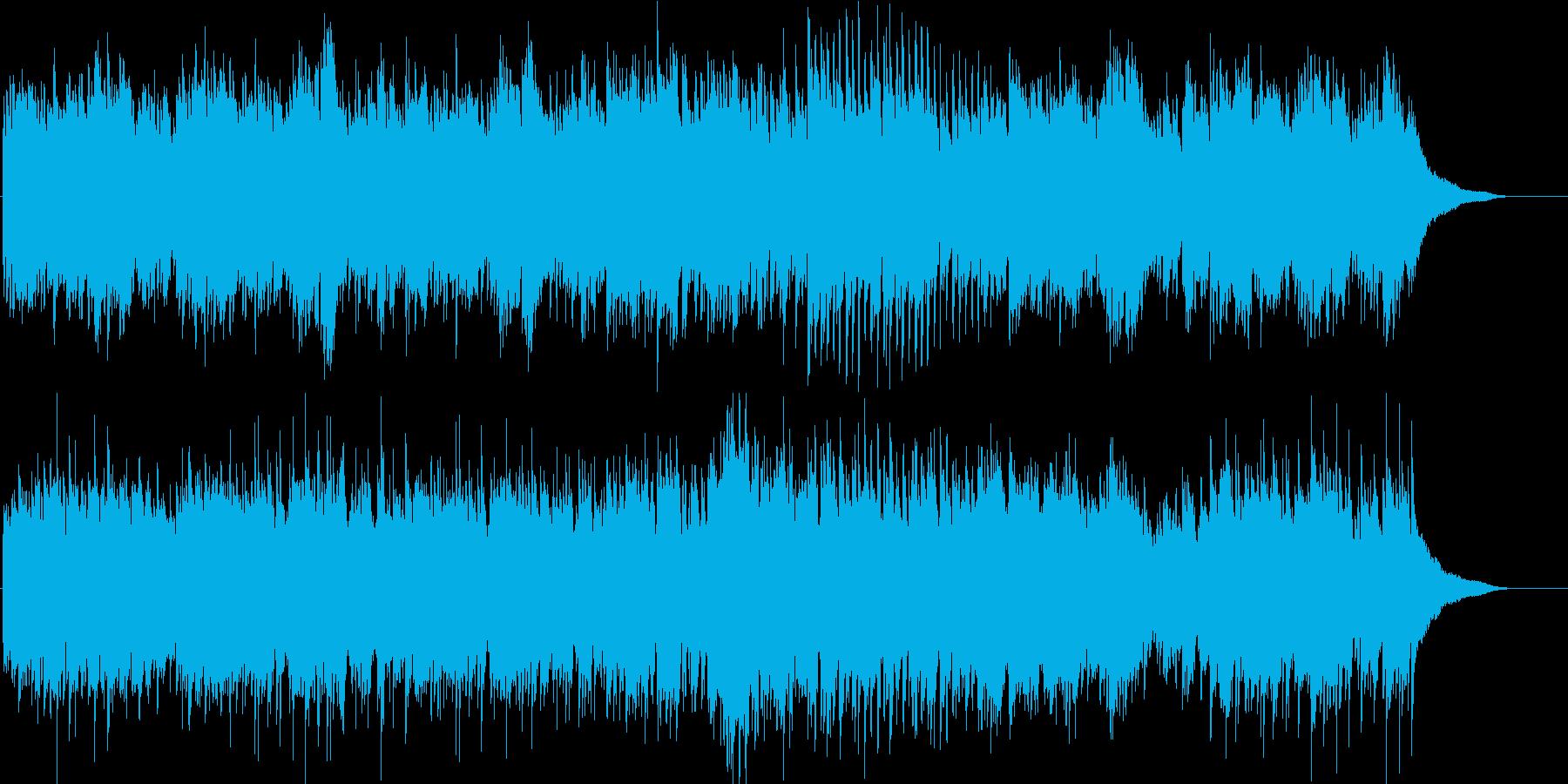 CMやVPに ピアノのヒーリングで癒しの再生済みの波形