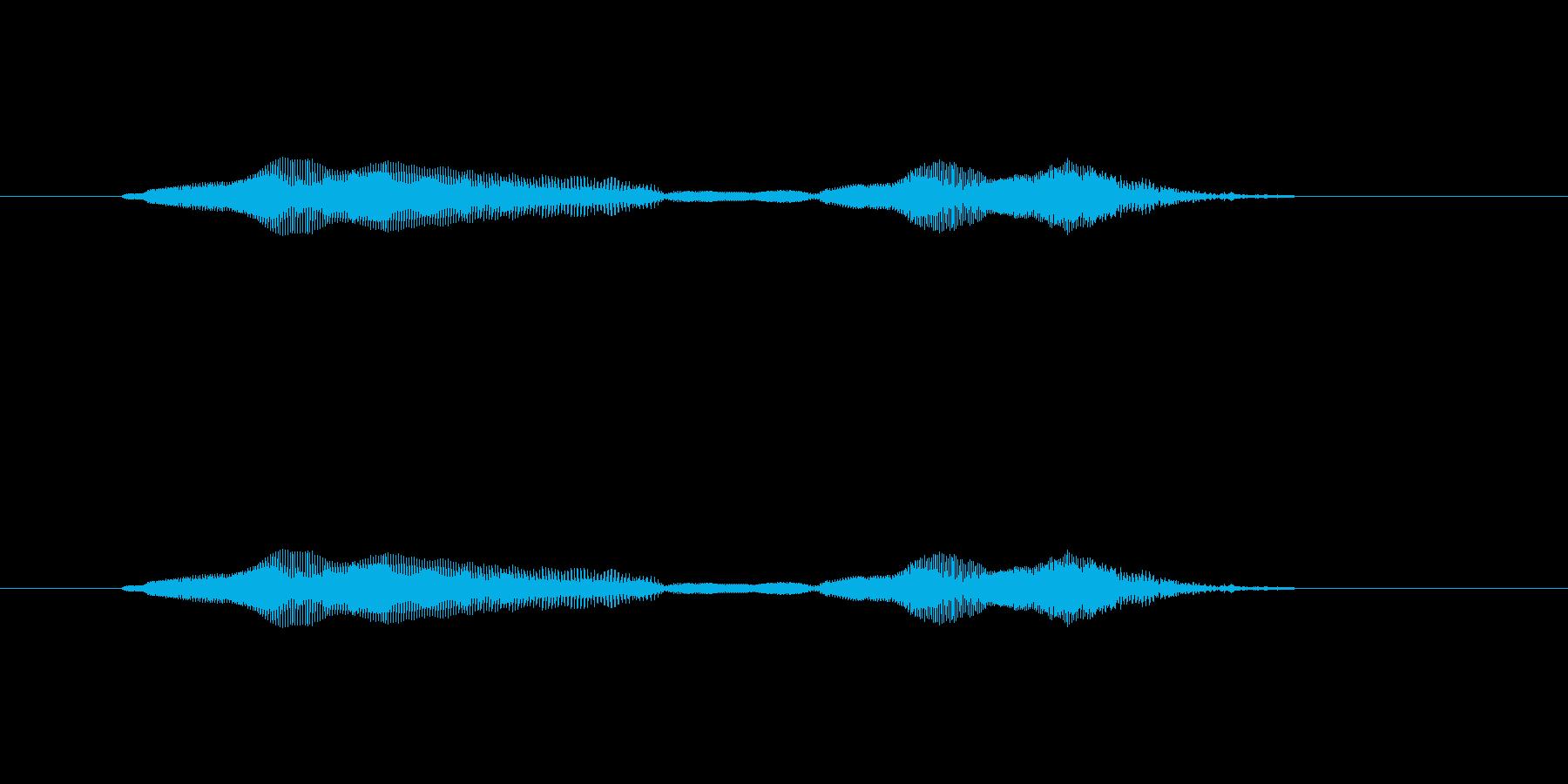 ニャー_猫声-29の再生済みの波形