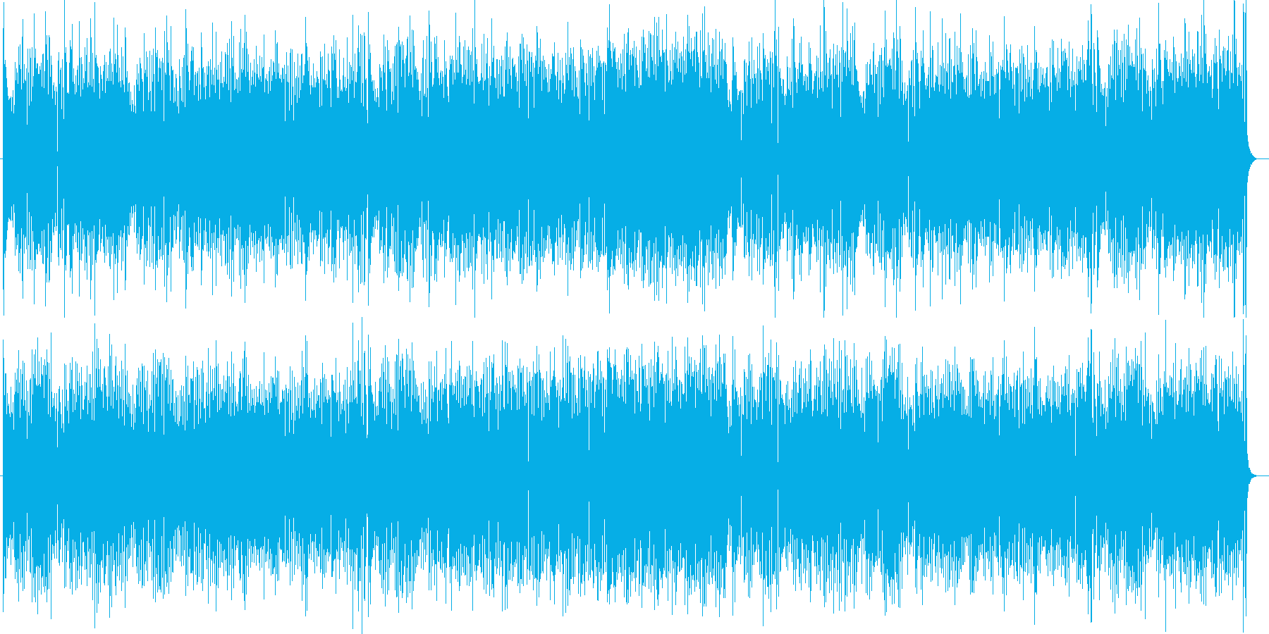 明るいノスタルジックなシンセサウンドの再生済みの波形