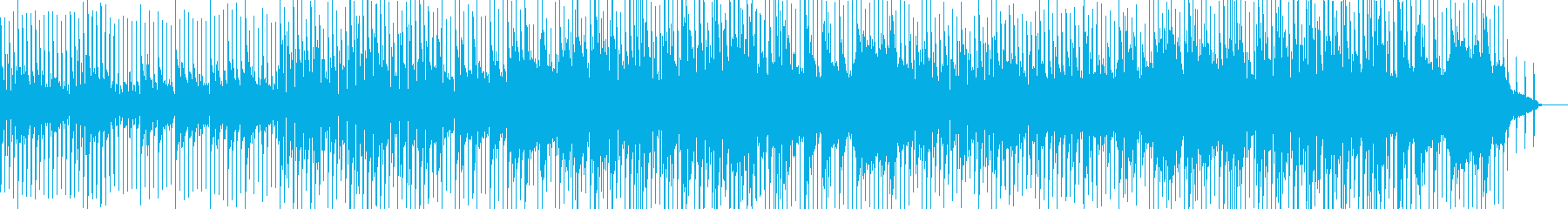 透明感・爽やか・前向き・ポジティブピアノの再生済みの波形