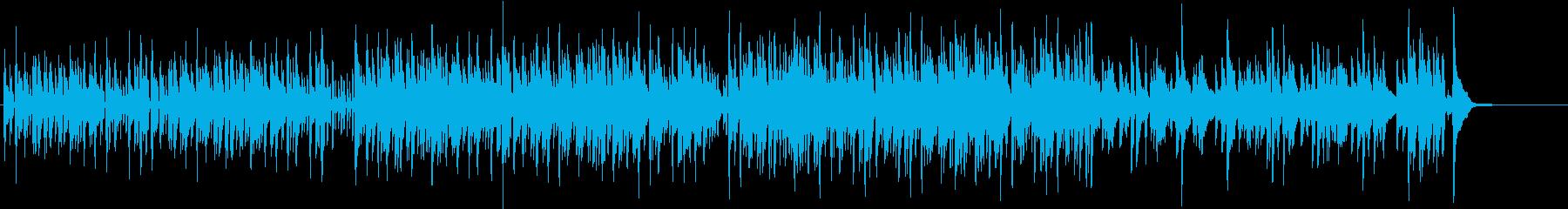美しく儚い印象のピアノジャズヒップホップの再生済みの波形