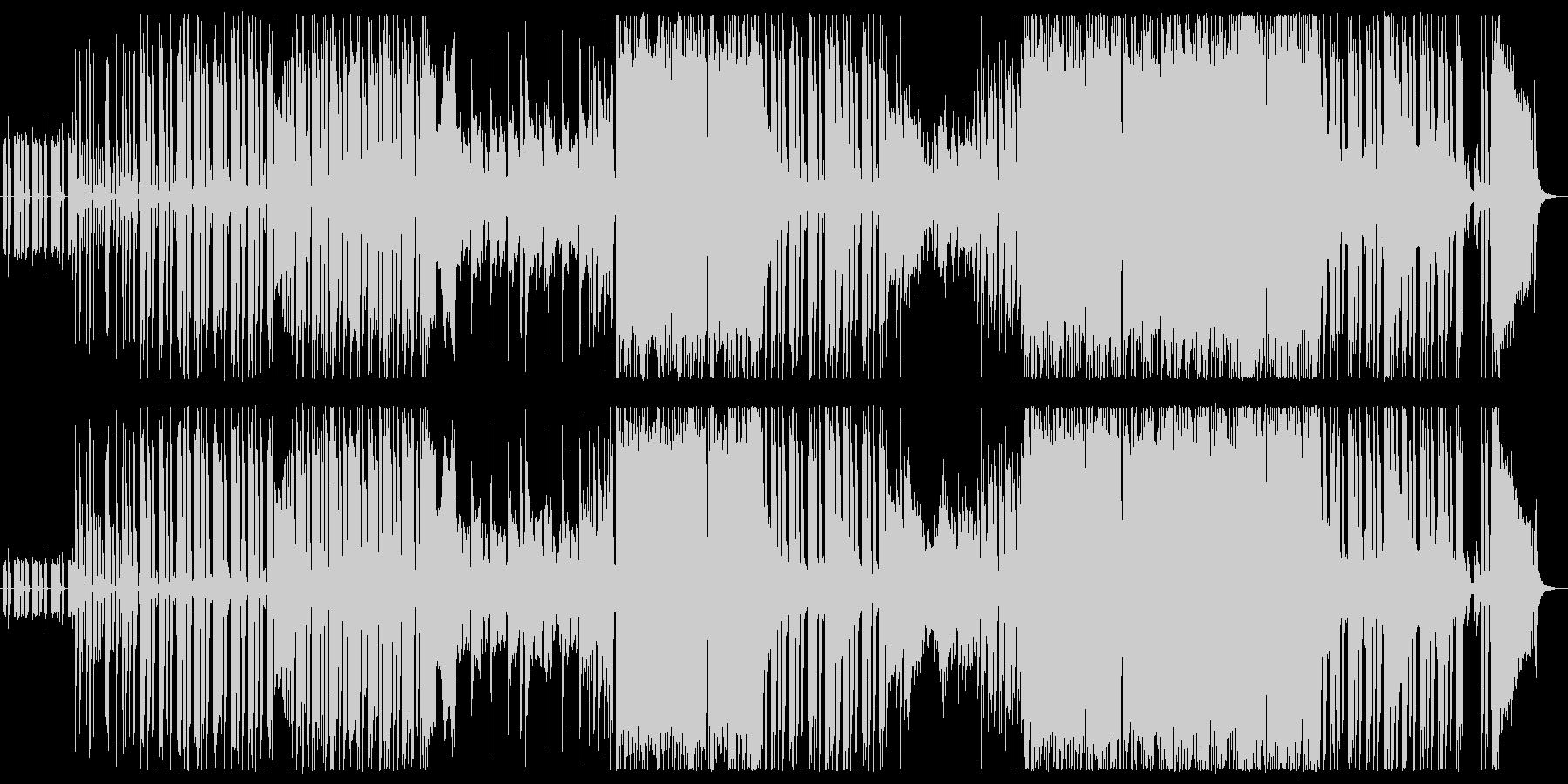 ダンサンブルなエピックロックの未再生の波形