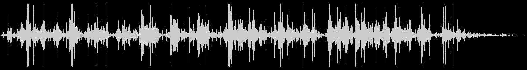 ジャラジャラジャラ(鈴の音)の未再生の波形