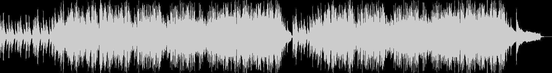 ポップなピアノ曲の未再生の波形