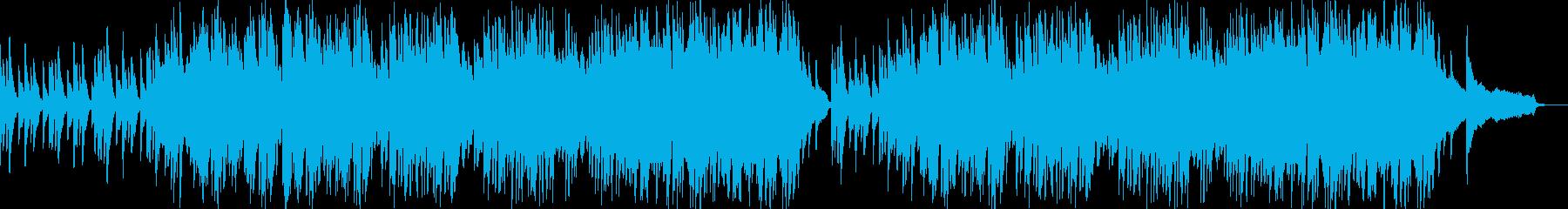 ポップなピアノ曲の再生済みの波形
