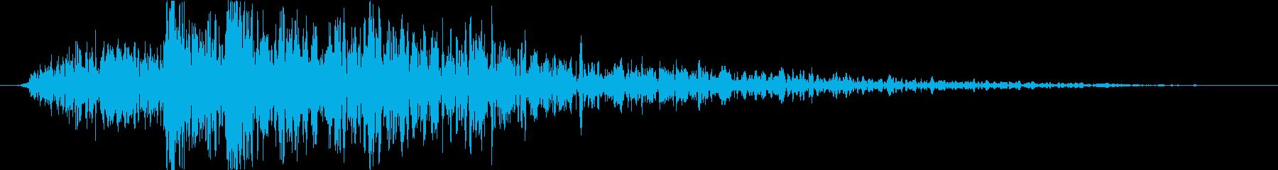 トランジション 炎16の再生済みの波形