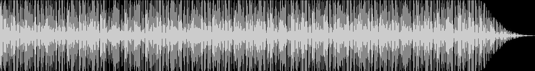 アルペジオでえ構成したピアノソロ作品の未再生の波形