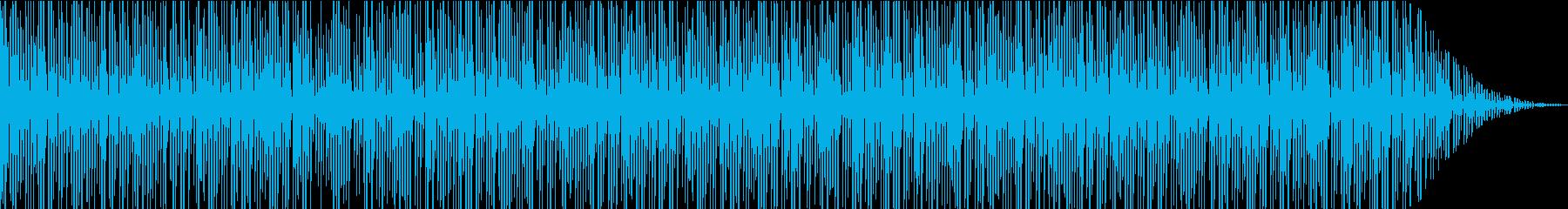 アルペジオでえ構成したピアノソロ作品の再生済みの波形