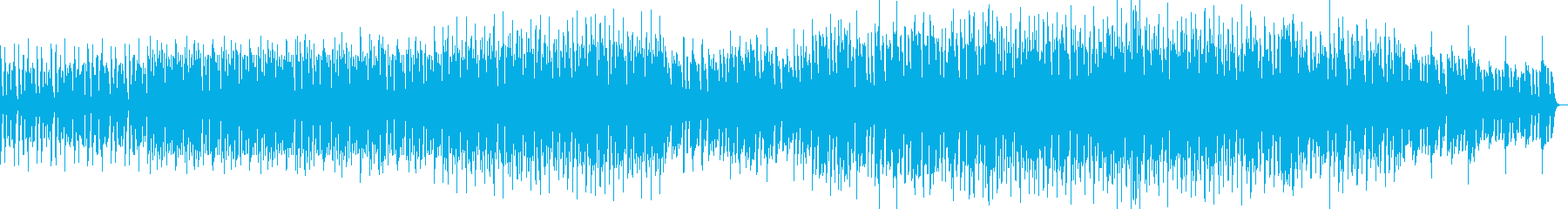 リラックスしたギターミニマルテクノの再生済みの波形