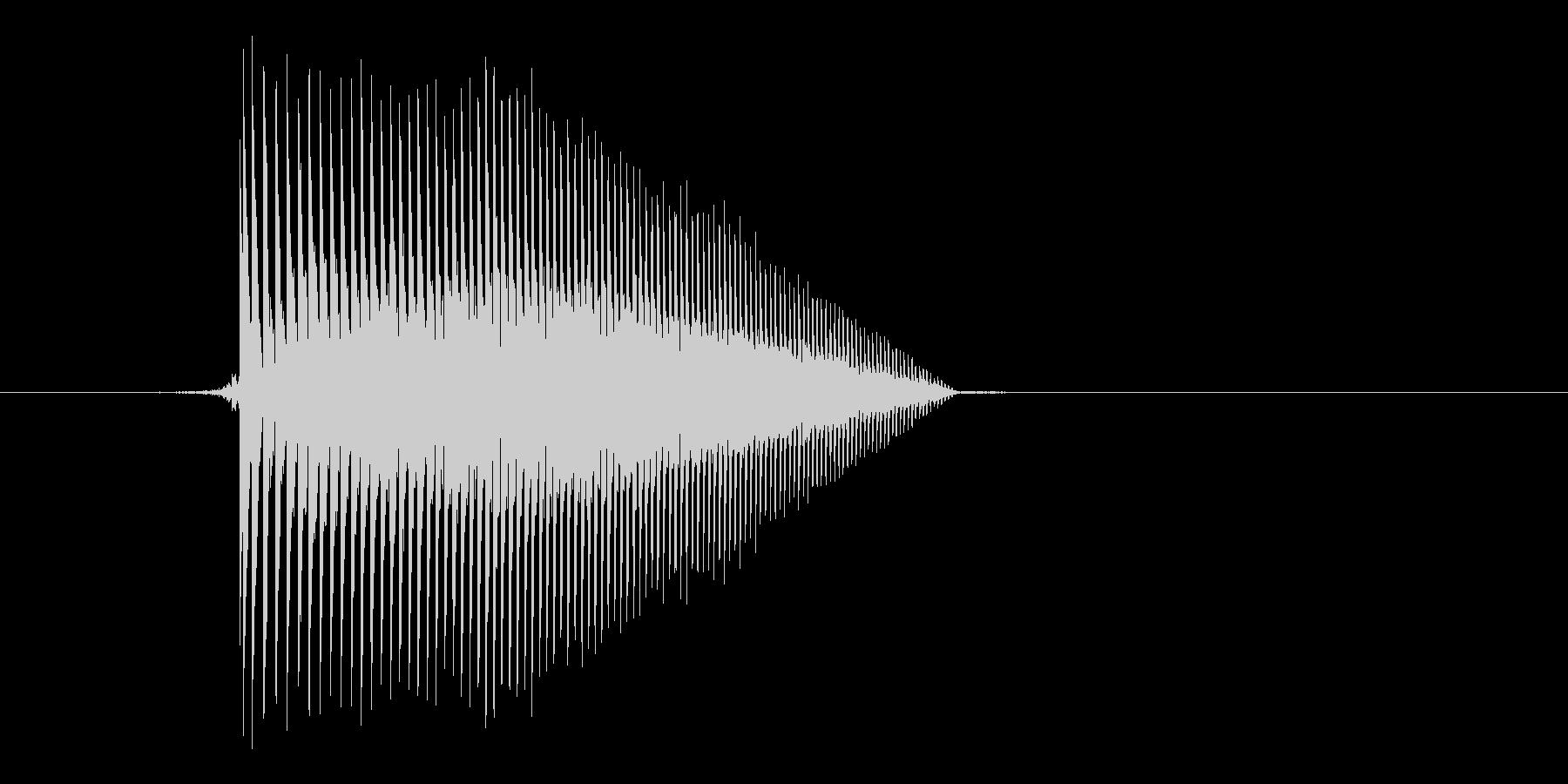 ゲーム(ファミコン風)ジャンプ音_003の未再生の波形