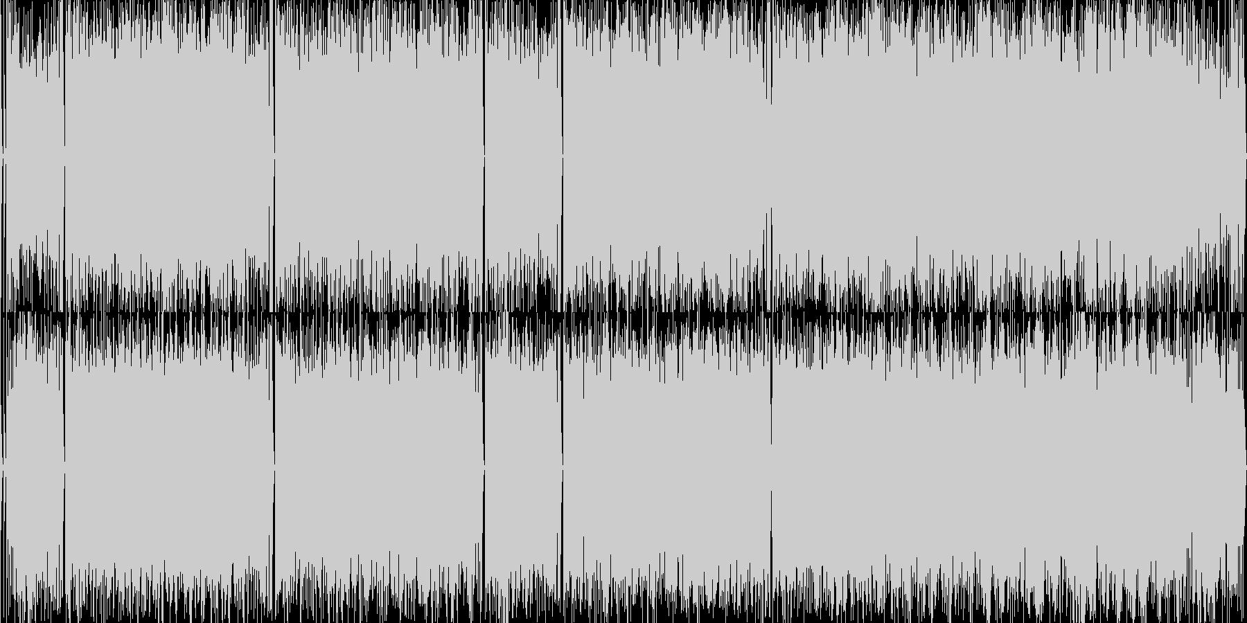アップテンポのブライダル・コメディー楽曲の未再生の波形
