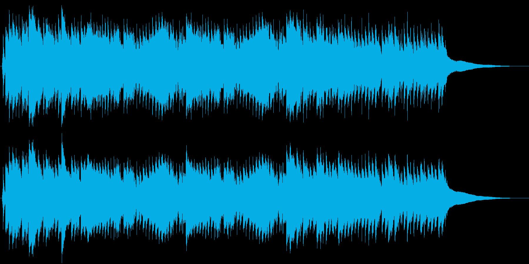 レトロな目覚まし時計のベル(ジリリリ)Bの再生済みの波形