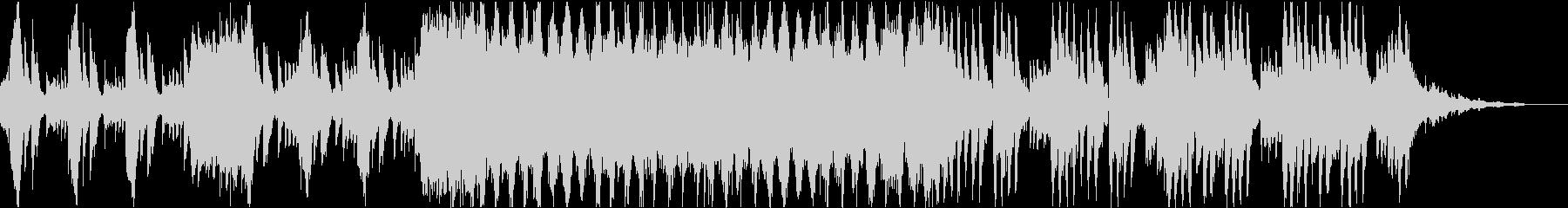 可愛らしいメルヘンなBGMの未再生の波形